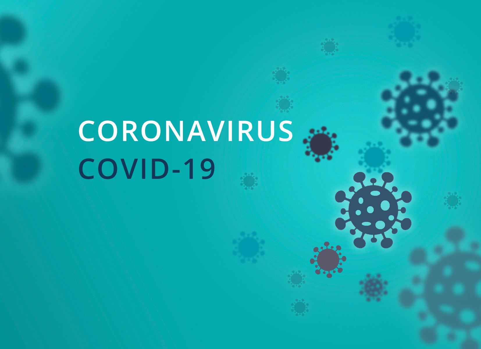 covid-19 coronavirus seamless outbreak background vector illustrator